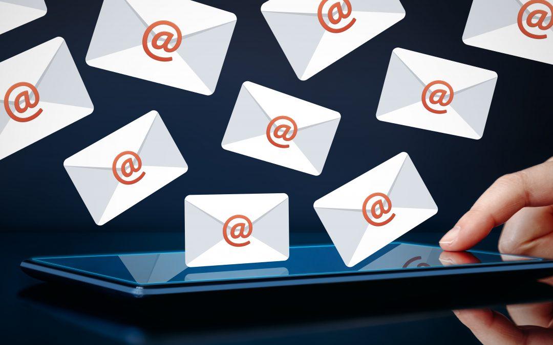 Събиране на имейли от сайта